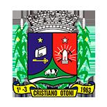 Brasão da Prefeitura de Crsitiano Otoni - MG