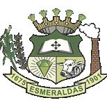 Brasão da Prefeitura de Esmeraldas - MG